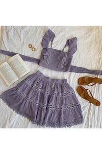 Isabelle Top - Lilac