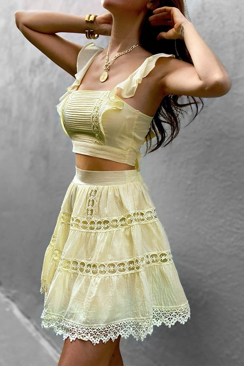 Isabelle Top - Yellow