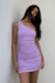 Izi Side Dress - Lilac