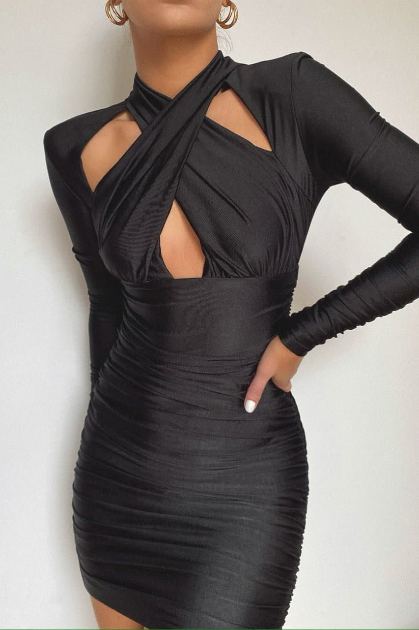 Kimora Dress - Black