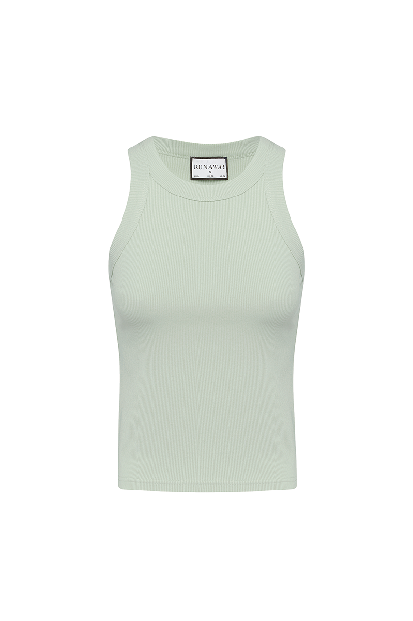 Staple Tank- Pistachio