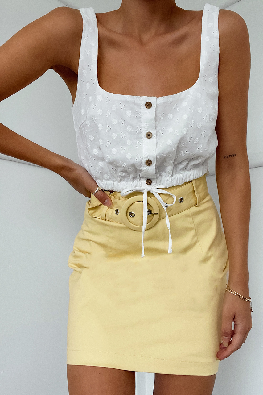 Arabella Top - Ivory