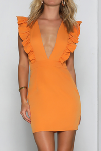 DUCHESS MINI DRESS - MANGO