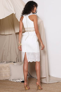MAKEDA MIDI DRESS