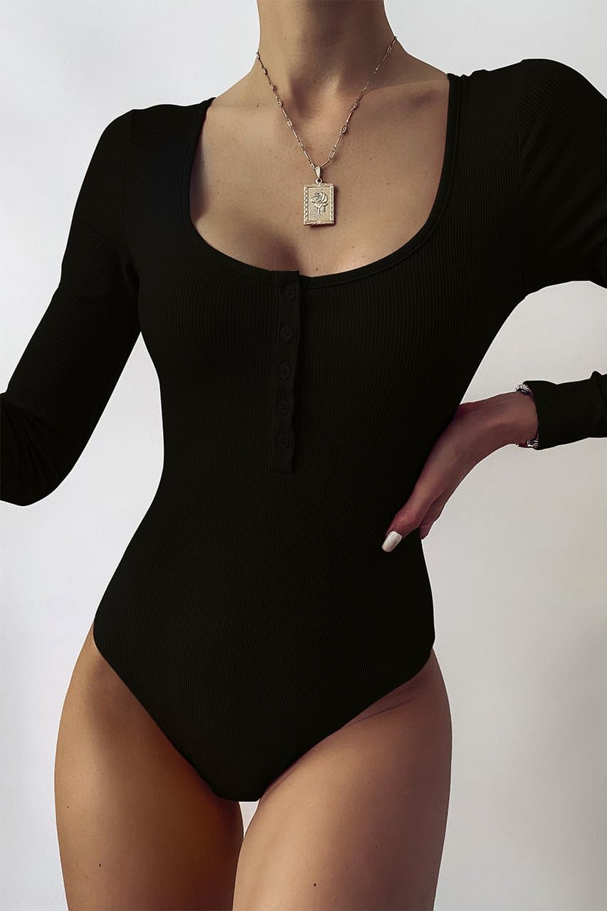 Myla Bodysuit - Black