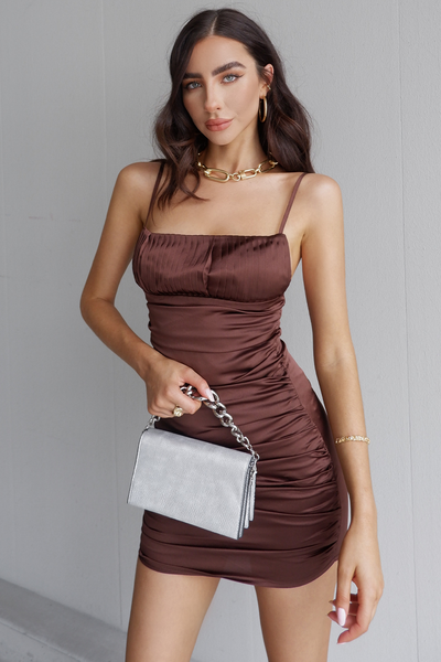 Naomi Dress - Chocolate