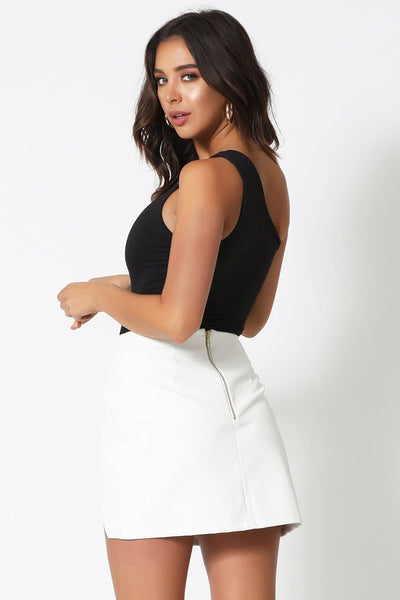 Alessandra Skirt-White