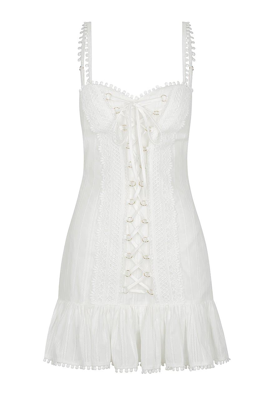 Fiji Dress - White