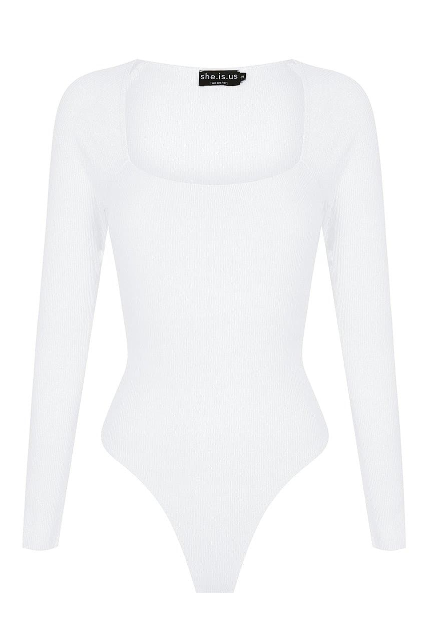 Cece Bodysuit - White