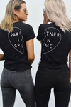 PARTNER IN CRIME TEE (RIGHT) - BLACK