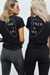 PARTNER IN CRIME TEE (LEFT) - BLACK