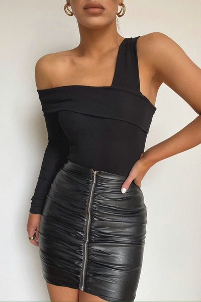 Cartia Mini Skirt - Black