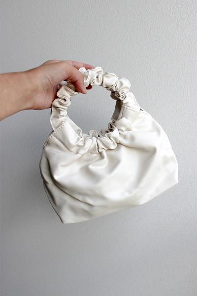 PUFF MINI BAG - WHITE