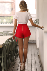 CHICAGO SHORTS - RED