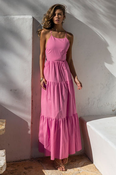 Remy Maxi Dress - Bubblegum