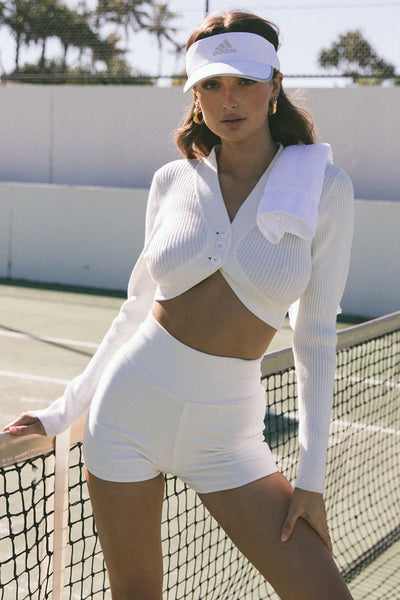 Fortuna Knit Top - Off White