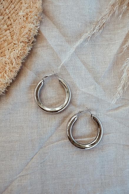 Thicc Earrings - Silver