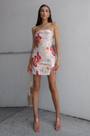 Skye Dress - Red Floral