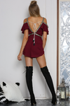 Souk Playsuit-Mulberry