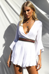 Pippa Playsuit-White