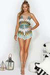 Harper Playsuit - Teal