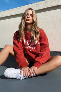 Leisure jumper - Red