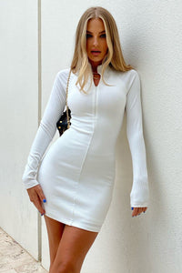 Valencia Dress - White
