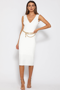 Suki Dress-White