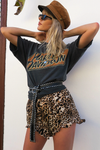 Gypsy Shorts - Leopard