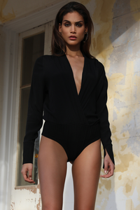 TEXAS BODYSUIT - BLACK