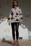 SHOOTING STAR SWEATER - NUDE