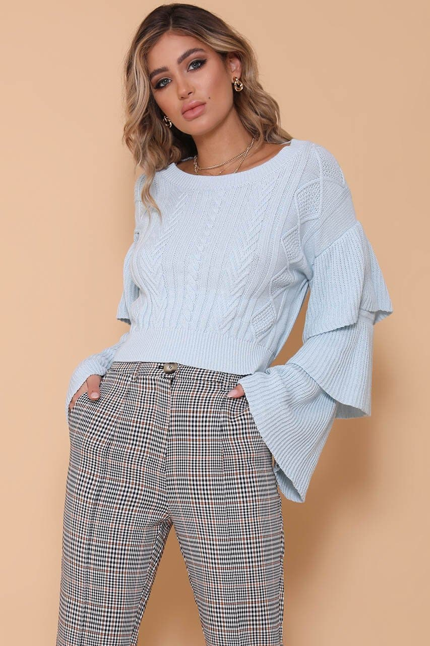 ELOISE SWEATER - SKY BLUE
