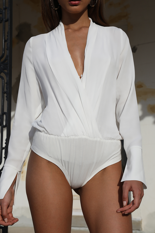 Texas Bodysuit - White