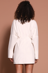 FREEFORM DRESS - WHITE