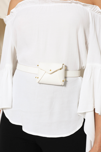 SAFARI BELT - WHITE