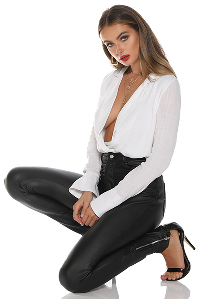 Hailey Bodysuit - White