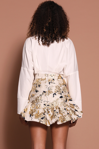 KINTSUGI SKIRT - GOLD