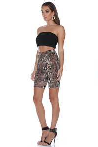 SNAKE CYCLE SHORTS - SNAKE