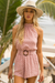 Airlie Playsuit - Dusty Pink