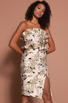 KINTSUGI DRESS - GOLD