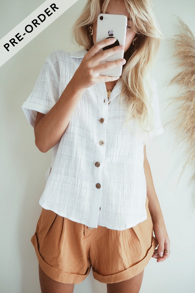 LA CONCHA SHIRT - WHITE