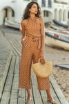 JULIA JUMPSUIT - RUST SPOT