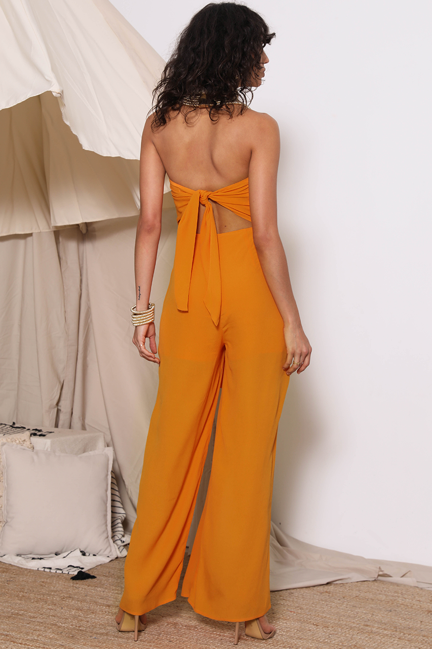 Simba Jumpsuit - Papaya