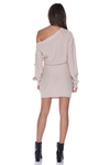 BELLA KNIT DRESS - NATURAL