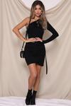 WORK IT DRESS - BLACK