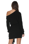 BELLA KNIT DRESS - BLACK