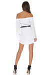 BOSS SHIRT DRESS - WHITE