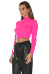 Trippin Sweater - Neon Pink