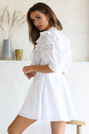 ANNABEL DRESS - WHITE