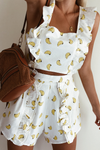 Gone Bananas Top - Banana Print